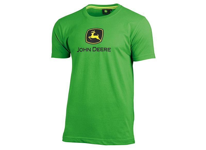 John Deere Basic T-Shirt White