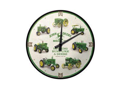 Horloge murale «L'histoire de JohnDeere»