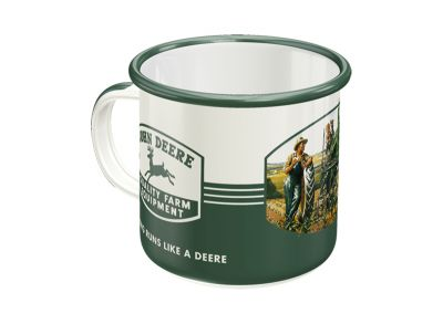 Enamel Mug 'Quality Farm Equipment'