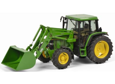 John Deere 6300 with front loader