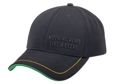 Basecap Rubberprint Nothing Runs like a Deere