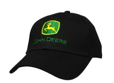 John Deere Cap, Black
