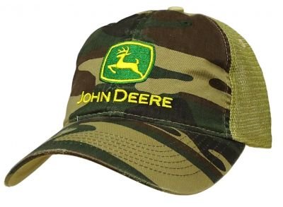 JD Camo Trucker Cap