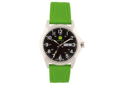 Grüne Armbanduhr