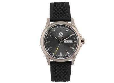 Schwarze Armbanduhr