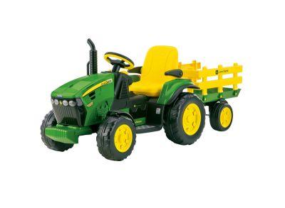 Tractor John Deere y remolque