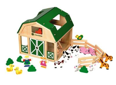Wooden Play Farm
