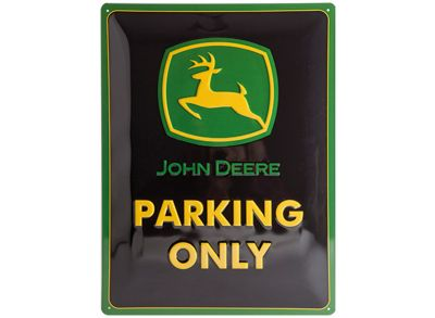 Tin Sign 30 x 40 cm - Parking Only