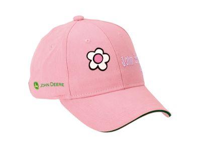 Różowa czapka z daszkiem