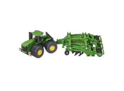 John Deere 9630 traktor med  Amazone Centaur