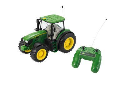 Kauko-ohjattava John Deere 6190R -traktori