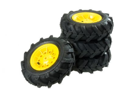 Pneumatic Tyres for rolly toys John Deere 6210R and rollyJunior Tractors