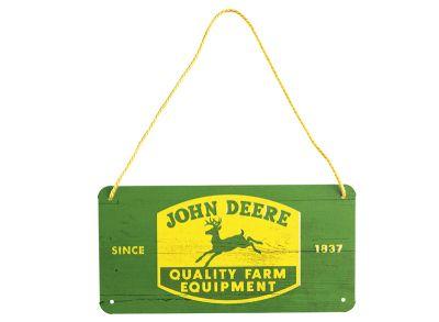 Plaque décorative «Quality Farm Equipment» 10 x 20 cm