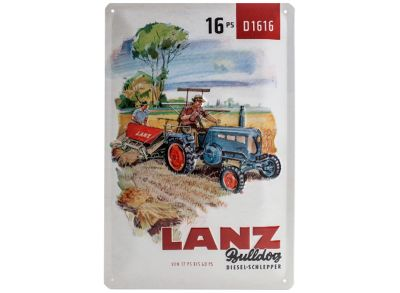 Lanz Tin Sign 20 x 30 cm