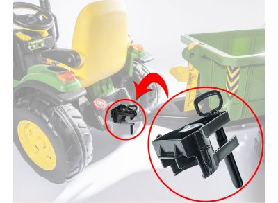 rolly toys adapter compatible with Peg Perego tractors
