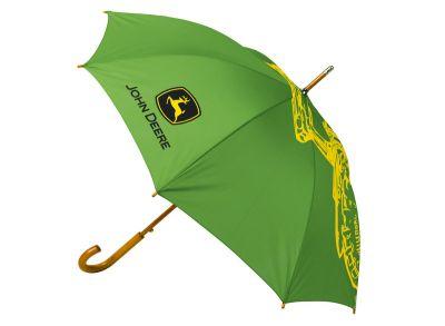 Paraply, grönt