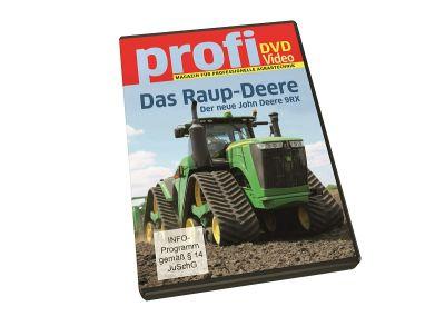 DVD-levy – John Deere 9RX -telatraktori