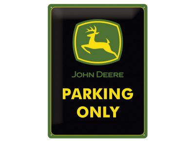 Tin Bord 15 x 20 cm - Parking Only