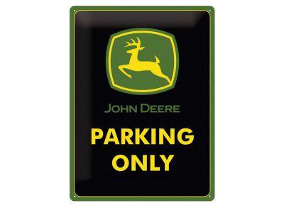 Plaque métallique 15 x 20 cm - Parking Only