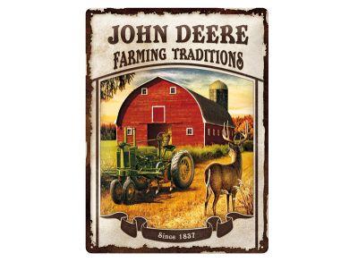 Plaque métallique 30 x 40 cm - Farming Traditions