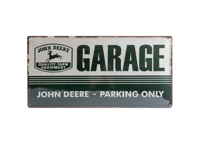 Insegna metallica 25 x  50 cm- Garage