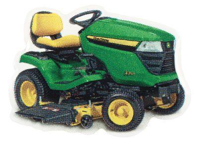 Pin's Tracteur de jardin