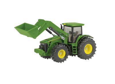John Deere  8430 -traktori ja etukuormain