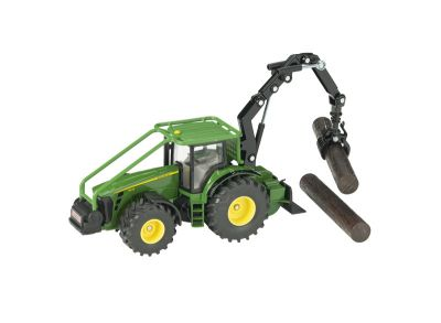 John Deere 8430 Tractor with Forestry Logging Crane