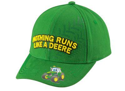 Children Cap 'Nothing Runs Like A Deere'