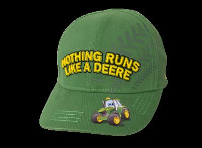 "Cappellino bambini ""Nothing Runs Like A Deere"""
