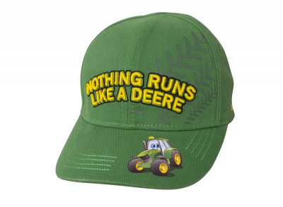 "Kinder Cap ""Nothing Runs Like A Deere"""