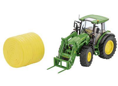 John Deere-traktor 5125R med frontlastare