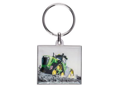 Photo Metal Key Ring 9RX Tractor