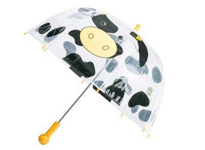 Paraply för barn med komotiv