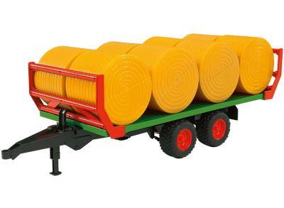 Reboque de transporte de fardos