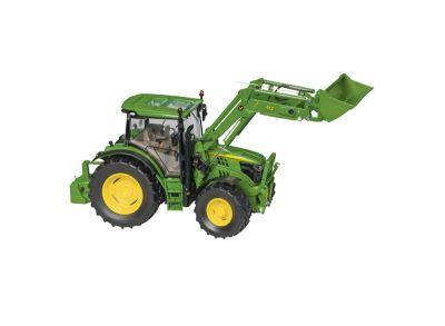 John Deere 6125R traktor med frontlastare
