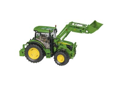 Tractor JohnDeere 6125R con cargadora frontal