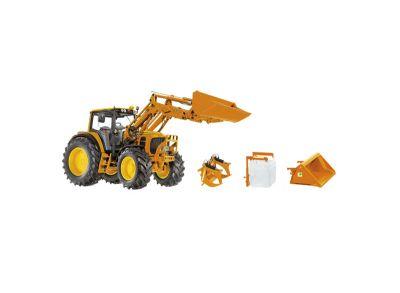 Tractor de servicio municipal John Deere 7430