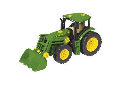 Juego de montaje de tractor con cargadora frontal