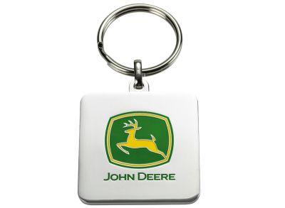 Nyckelring med John Deere logo
