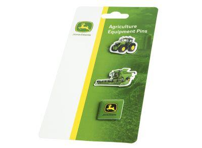 Conjunto de alfinetes de agricultura