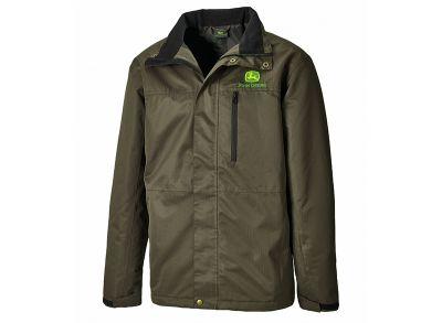 Casaco verde-escuro