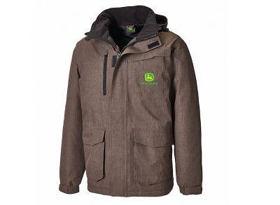 Brown Herringbone Pattern Jacket