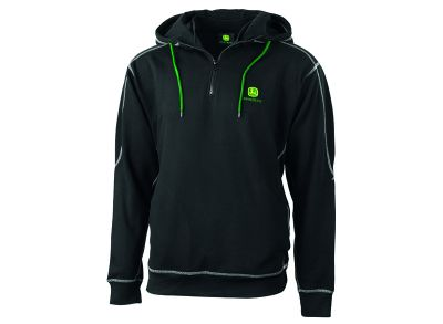 365 Zip Pullover with Hood