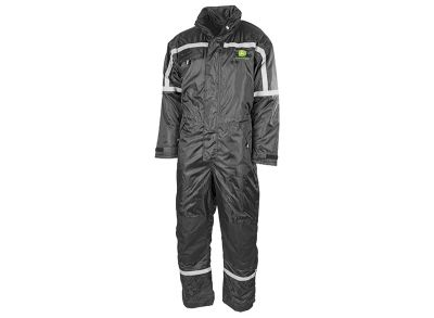 Waterproof Padded Overall Black