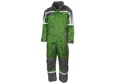 Waterproof Padded Overall Green