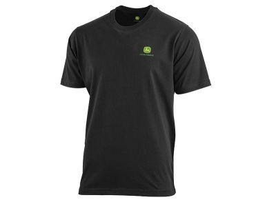 T-shirt com logótipo na parte da frente e trás