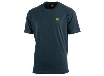 Camiseta con logotipo en la parte frontal y trasera