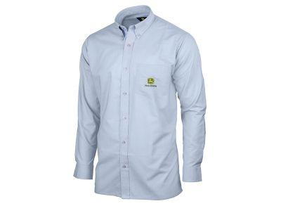 Långärmad skjorta i ljusblått