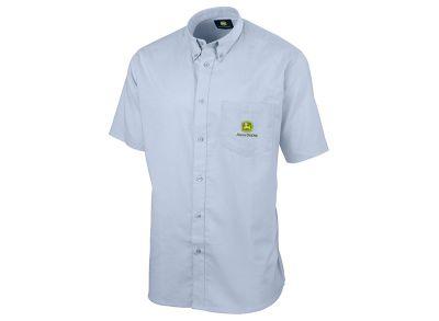 Camisa de manga curta em azul-claro